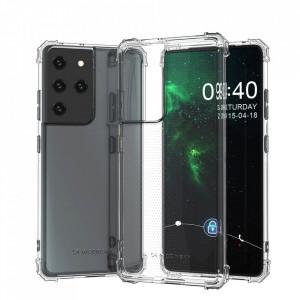 Удароустойчив гръб Antishock Military Grade - Samsung Galaxy S21 Ultra прозрачен