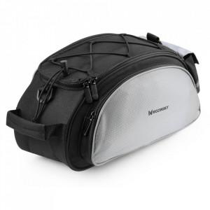 Чанта за багажник на колело WOZINSKY с презрамна вместимост - 13 л черен (WBB1BK)