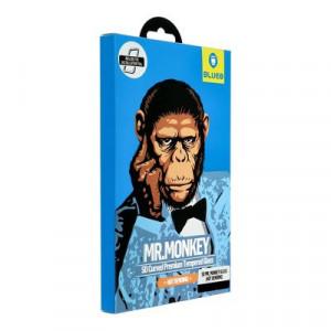3D закален стъклен протектор MR. MONKEY (Hot Bending) - Samsung Galaxy Note 10 черен