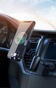 Bluetooth AUX aptX трансмитер за кола Ugreen - черен