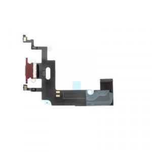 Charge Port Flex Cable EQ - iPhone XR червен