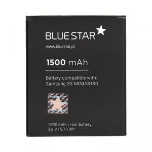 Батерия - Samsung Galaxy S3 Mini (I8190) 1500mAh Li-Ion BLUE STAR PreMium