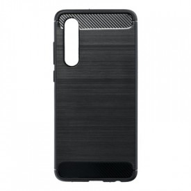 Гръб FORCELL Carbon - Huawei P30 черен