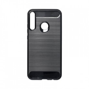 Гръб FORCELL Carbon - Huawei P40 Lite E черен
