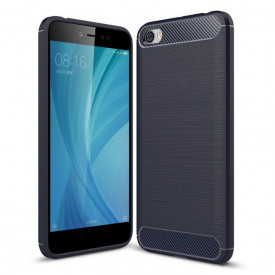 Гръб FORCELL Carbon - Xiaomi Redmi 5A син