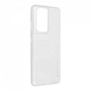 Гръб i-Jelly Mercury - Samsung Galaxy S21 Ultra сребрист