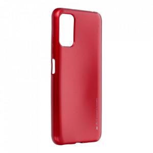Гръб i-Jelly Mercury - Xiaomi Redmi Note 10 5G червен