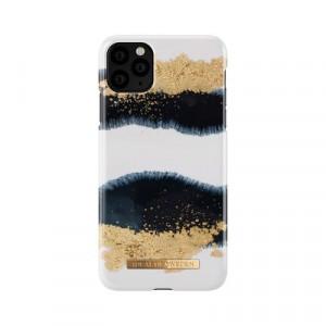 Гръб iDeal of Sweden - iPhone 11 Pro Max златист-бял-черен