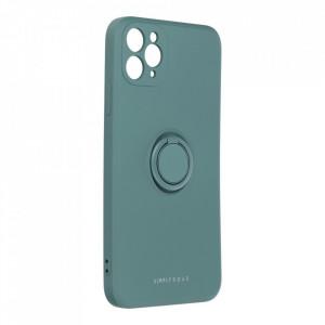 Гръб Roar Amber с държач - iPhone 11 Pro Max зелен
