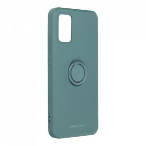 Гръб Roar Amber с държач - Samsung Galaxy A02s зелен