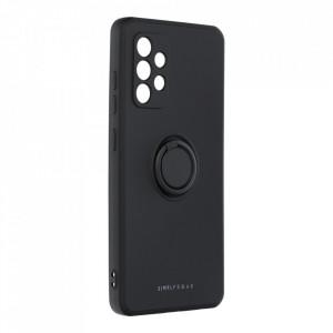 Гръб Roar Amber с държач - Samsung Galaxy A52 5G / A52 черен