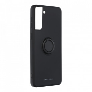 Гръб Roar Amber с държач - Samsung Galaxy S21 Plus черен