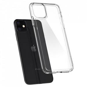 Гръб Spigen Ultra Hybrid - iPhone 11 прозрачен
