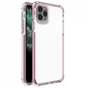 Гръб Spring Armor с цветна рамка - iPhone 11 Pro Max розов