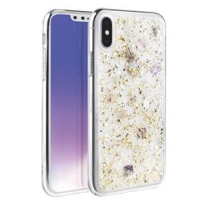 Гръб UNIQ Lumence Clear - iPhone XS Max златно шампанско