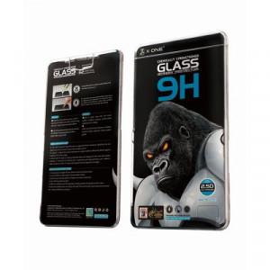 Закален стъклен протектор 9H с пълно покритие X-ONE Extra Strong Matte - iPhone 12 Pro Max черен