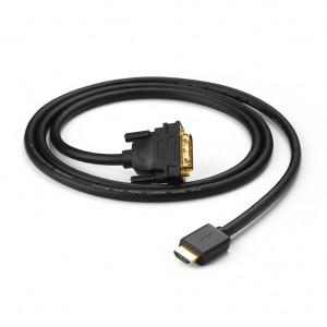 Кабел Ugreen HDMI - DVI 4K 60Hz 30AWG 1m черен (30116)