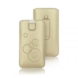 Калъф тип джоб FORCELL Deko - iPhone6 Plus / 7 Plus / 8 Plus / XS Max / 11 Pro Max / - Samsung Galaxy S10 Plus / A10 / A30s / A50 златист
