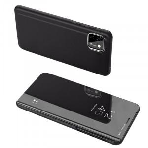 Калъф тип книга Clear View (активен капак) - Huawei Y5p черен