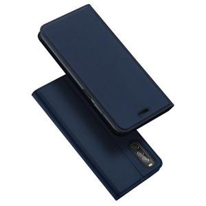 Калъф тип книга DUX DUCIS Skin Pro - Sony Xperia 10 II син