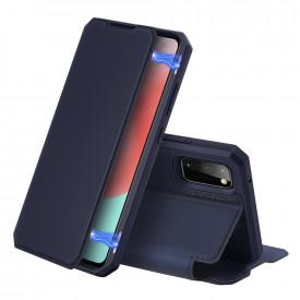 Калъф тип книга DUX DUCIS Skin X - Samsung Galaxy A41 син