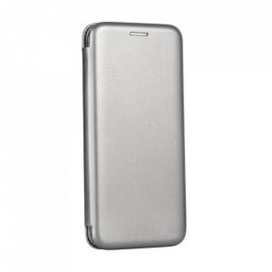 Калъф тип книга FORCELL Elegance - Samsung Galaxy A12 сив