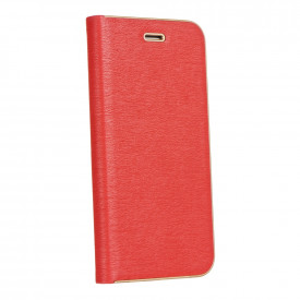 Калъф тип книга Luna - Xiaomi Redmi 9C / 9C NFC червен