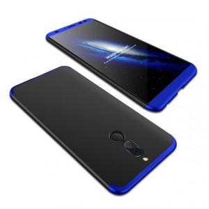 Калъф 360° GKK Full Body Cover (без стъкло) - Huawei Mate 10 Lite черен-син