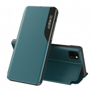 Кожен калъф тип книга ECO - Huawei Y5p зелен