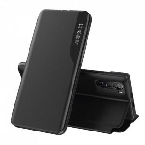 Кожен калъф тип книга ECO - Xiaomi Mi 11i / Poco F3 / Poco F3 Pro / Redmi K40 / Redmi K40 Pro черен