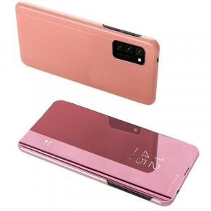 Огледален калъф тип книга Clear View - Samsung Galaxy A72/A72 5G розов