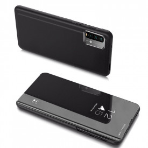 Огледален калъф тип книга Clear View - Xiaomi Poco M3 / Xiaomi Redmi 9T черен