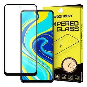 Протектор с пълно покритие и рамка WOZINSKY - Xiaomi Redmi Note 9s / Note 9 Pro черен