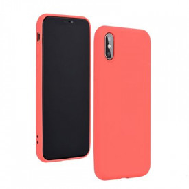 Силиконов гръб FORCELL Silicone Lite - iPhone 8 розов