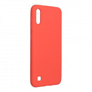 Силиконов гръб FORCELL Silicone Lite - Samsung Galaxy A12 розов