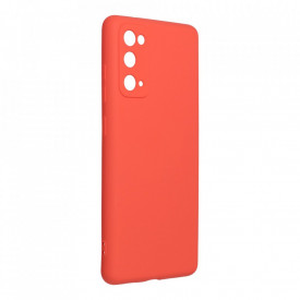 Силиконов гръб FORCELL Silicone Lite - Samsung Galaxy S20 FE / S20 FE 5G розов