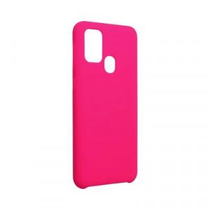 Силиконов гръб FORCELL Silicone - Samsung Galaxy M31 розов (31)