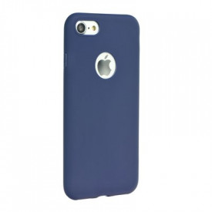 Силиконов гръб FORCELL Soft - iPhone 8 тъмносин