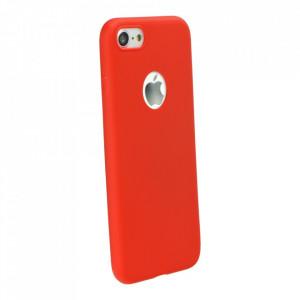 Силиконов гръб FORCELL Soft - Samsung Galaxy A02s червен