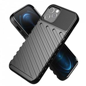 Силиконов гръб Forcell THUNDER - Samsung Galaxy A22 5G черен