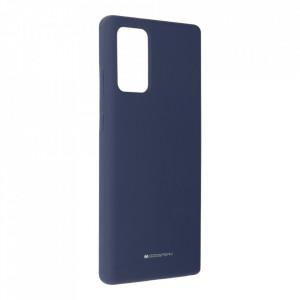 Силиконов гръб Mercury Silicone - Samsung Galaxy Note 20 син