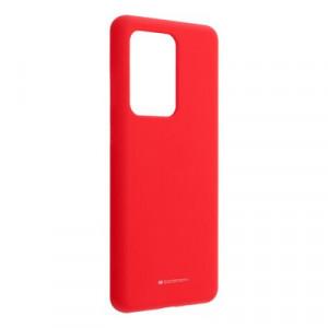 Силиконов гръб Mercury Silicone - Samsung Galaxy S20 Ultra червен