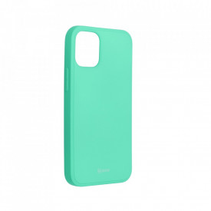 Силиконов гръб ROAR Colorful Jelly - iPhone 12 Mini мента
