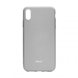 Силиконов гръб ROAR Colorful Jelly - iPhone XR сив