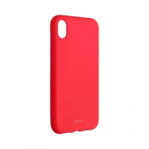 Силиконов гръб ROAR Colorful Jelly - iPhone XR циклама