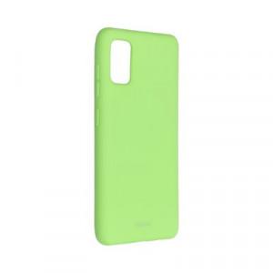 Силиконов гръб ROAR Colorful Jelly - Samsung Galaxy A41 лайм