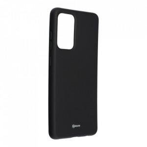 Силиконов гръб ROAR Colorful Jelly - Samsung Galaxy A52 5G черен