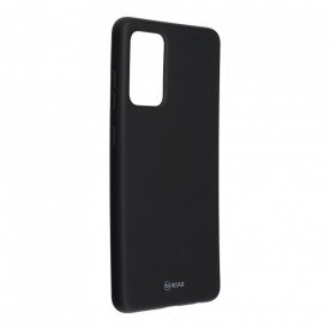 Силиконов гръб ROAR Colorful Jelly - Samsung Galaxy A72 5G черен