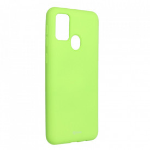 Силиконов гръб ROAR Colorful Jelly - Samsung Galaxy M21 лайм