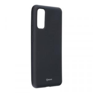 Силиконов гръб ROAR Colorful Jelly - Samsung Galaxy S20 черен